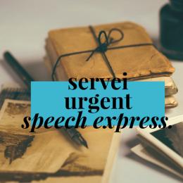 servei urgentspeech express