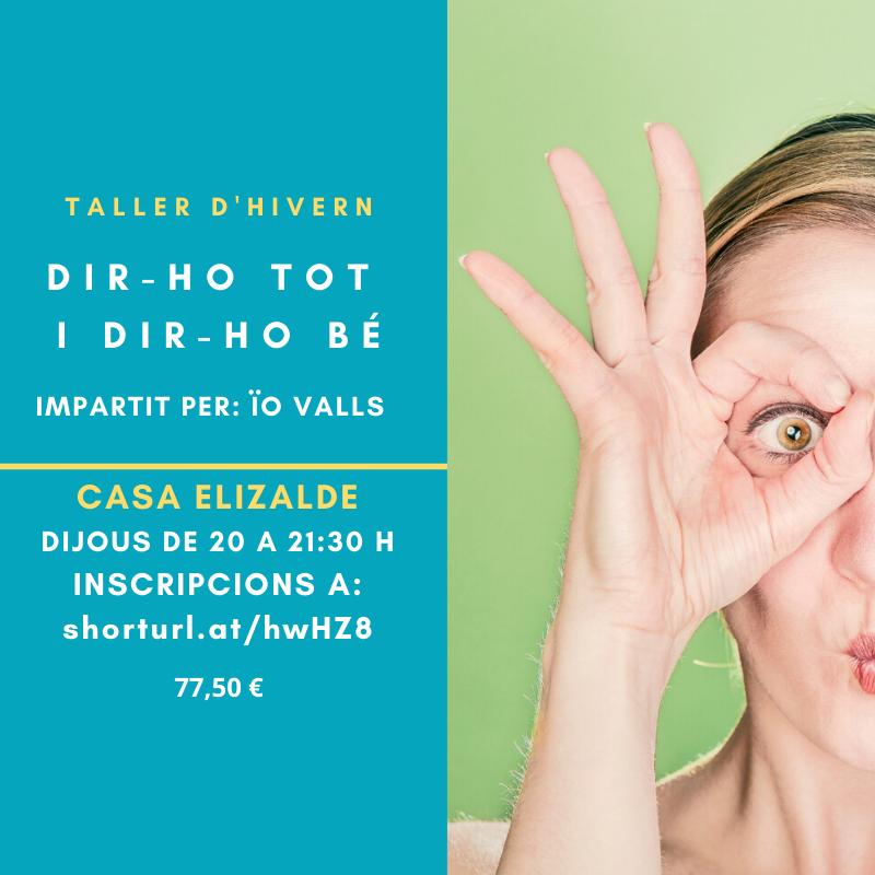 TALLER D'HIVERN